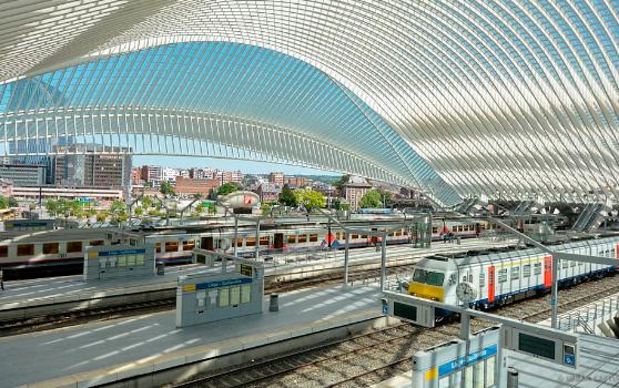 Льеж-Гийемен(Бельгия), Самые красивые вокзалы мира