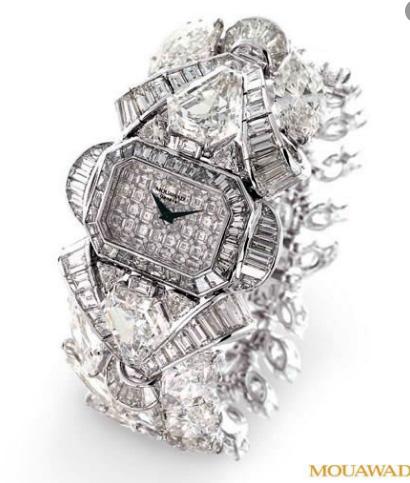 Mouawad «Snow White Princess Diamond»/ $6.8 миллионов, Самые дорогие часы в мире