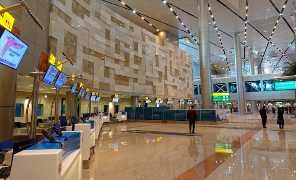 Аэропорт Каир: 36 км², Самые большие аэропорты мира