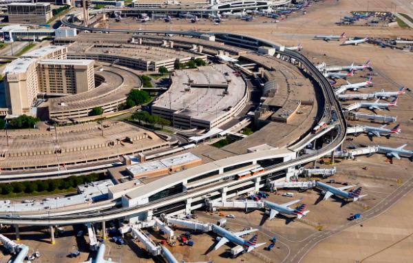 Аэропорт Даллас/Форт-Уэрт: 69 км², Самые большие аэропорты мира