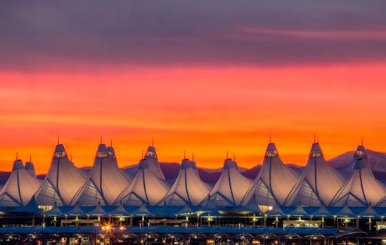 Аэропорт Денвер: 135 км², Самые большие аэропорты мира