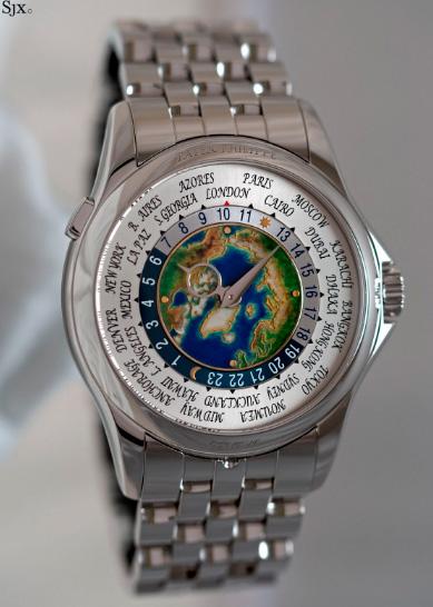 PatekPhilippe«PlatinumWorldTime» / $4.7 миллионов, Самые дорогие часы в мире