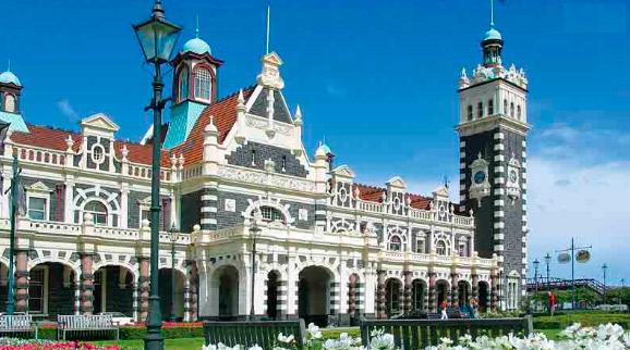 Данидин(Новая Зеландия), Самые красивые вокзалы мира