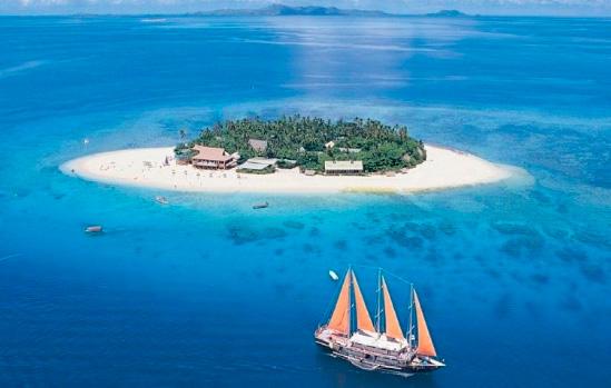 Фиджи, Лучшие курорты мира