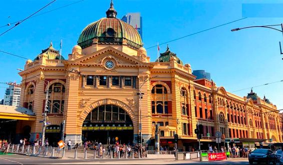 Флиндерс-Стрит(Австралия), Самые красивые вокзалы мира