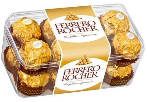 Ferrero SpA, Лучшие конфеты