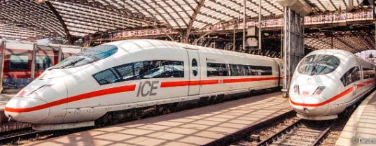 ICE3, Самые быстрые поезда в мире