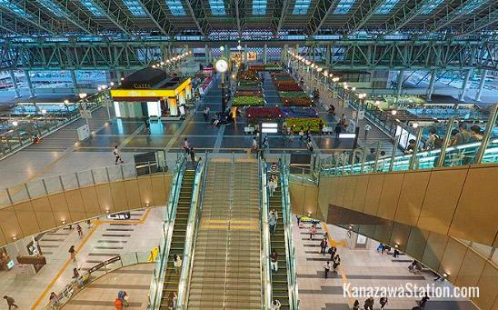 Канадзава(Япония), Самые красивые вокзалы мира