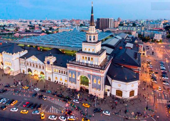 Казанский вокзал (Россия), Самые красивые вокзалы мира