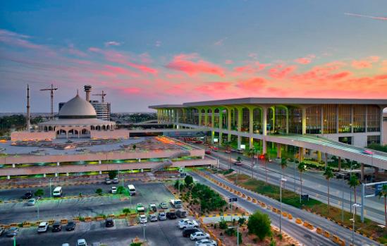 Аэропорт КорольФахд: 776 км² / King Fahd International Airport (KFIA), Самые большие аэропорты мира