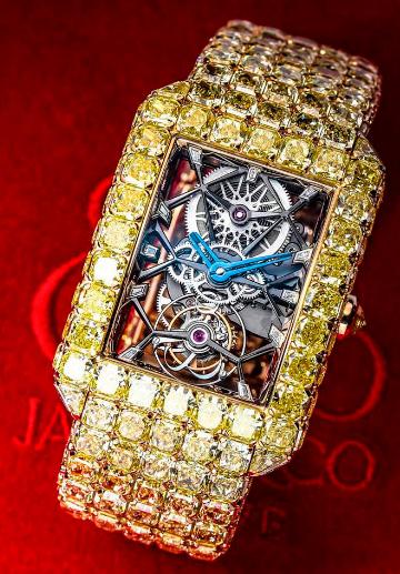 Jacob& Co «Billionaire» / $18 миллионов, Самые дорогие часы в мире