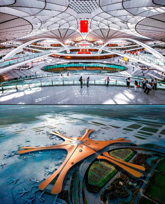 Аэропорт ПекинДасин: 47 км², Самые большие аэропорты мира