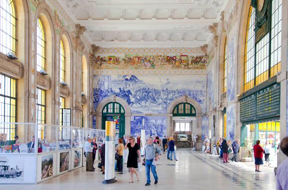 Сан-Бенту(Португалия), Самые красивые вокзалы мира