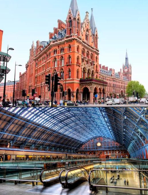 Сент-Панкрас (Великобритания) / St Pancras (UK), Самые красивые вокзалы мира