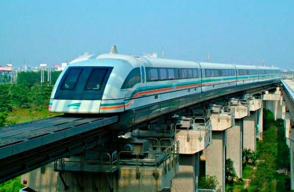 ШанхайскийМаглев, Самые быстрые поезда в мире