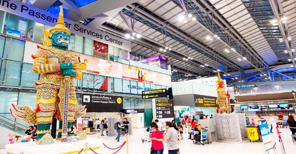 АэропортСуварнабхуми: 32 км² / Suvarnabhumi airport, Самые большие аэропорты мира