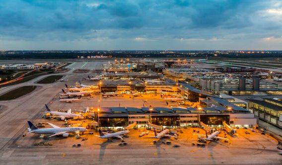 Аэропорт ХьюстонИнтерконтиненталимени ДжорджаБуша: 44 км², Самые большие аэропорты мира