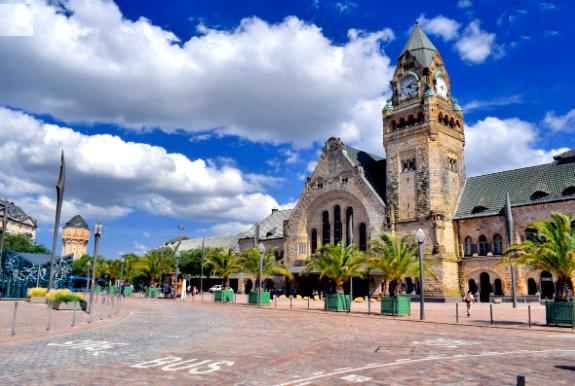 Мец-Вилль(Франция), Самые красивые вокзалы мира