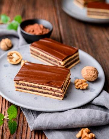Жербо / Gerbeaud cake, Самые вкусные пирожные мира