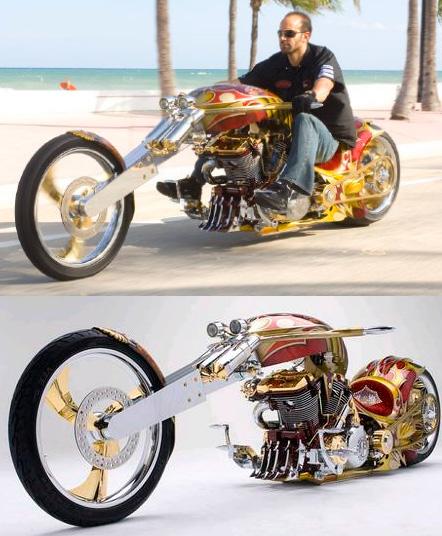 BMSChopperYamaha - 2.6 миллиона долларов, Самые дорогие мотоциклы