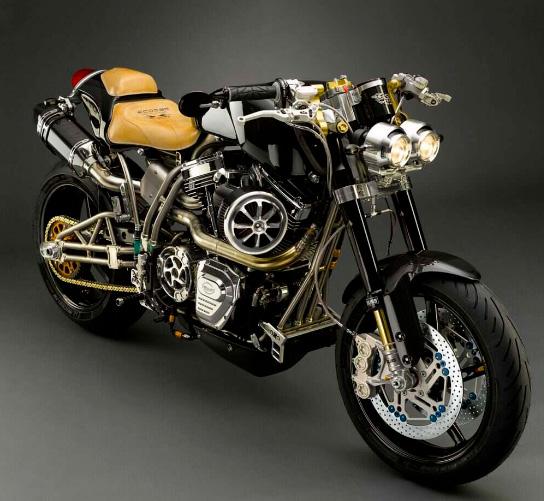 Titanium Series FE Ti XX Ecosse - 300.000 долларов, Самые дорогие мотоциклы