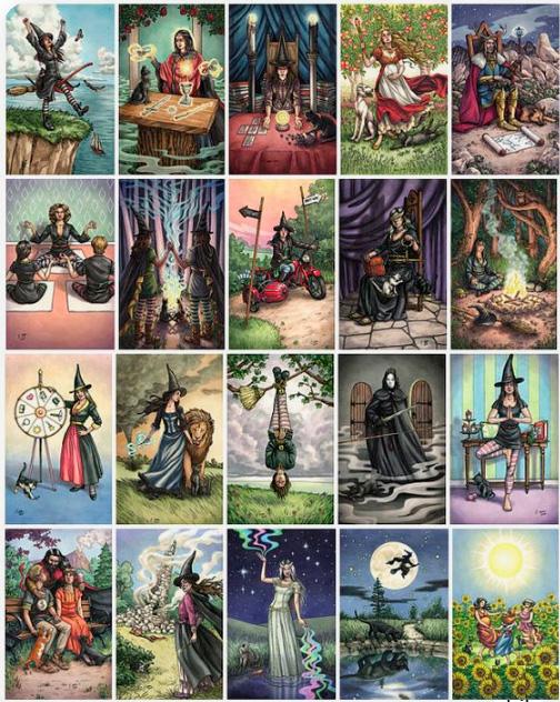 EverydayWitchTarot. Повседневное Таро ведьм, Карты Таро. Популярные и лучшие колоды. Какие карты таро лучше купить?